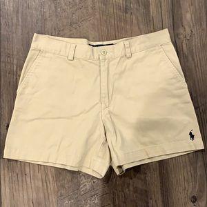 RALPH LAUREN SPORT Tan shorts 6